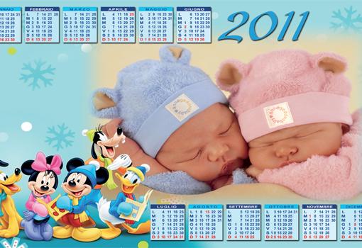 Calendario Bambini