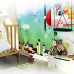 Decorazione murale cameretta