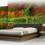 Decorazione murale camera da letto