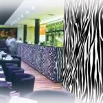 Decorazione murale risto bar