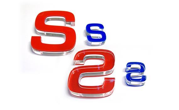 Lettere fresate in Plexiglas