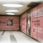 Decorazione vetrina Fitneess club