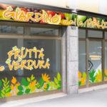 Decorazione vetrina il Giardino delle delizie