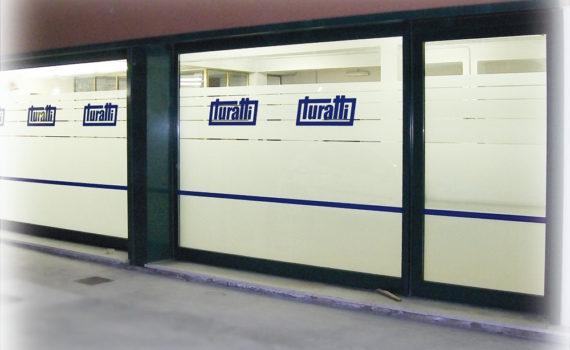 Decorazione vetrina Turatti