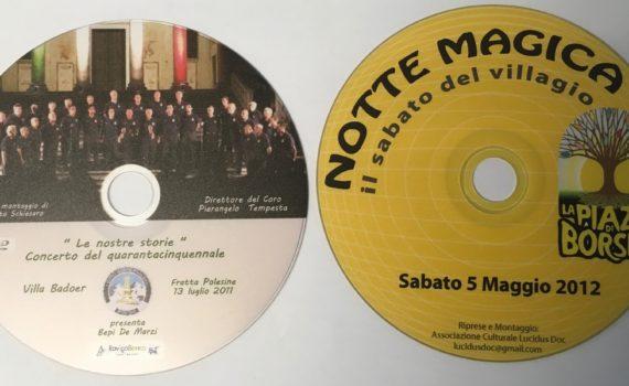 Stampa diretta su DVD