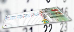 Calendario 15x45