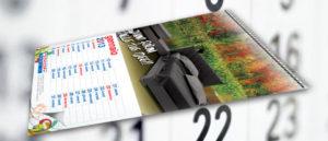 Calendario personalizzato 30x44