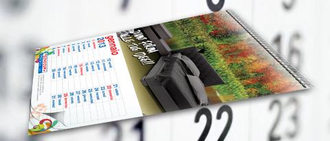 Calendario personalizzato 30x42