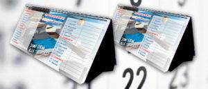 Calendario da banco personalizzato