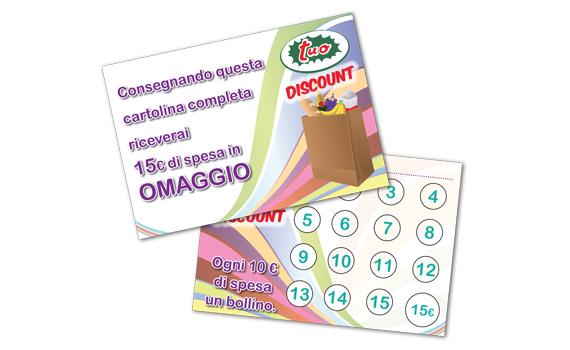 Cartolina omaggio Tuo discount