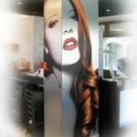 Decorazione colonna Paola hair style