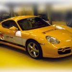 Decorazione parziale Porsche