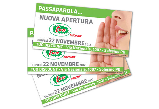 Flyer 10x21 Tuo discount
