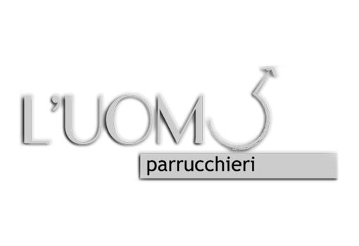 Logo l'uomo parrucchieri