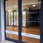 Decorazione vetrina Boaretti costruzioni