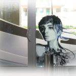 Decorazione vetrina Paola hair style