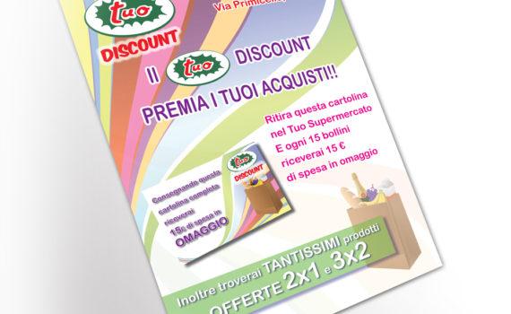 Volantino A4 Tuo discount