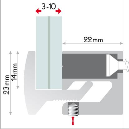 Sistema di fissaggio Clamper