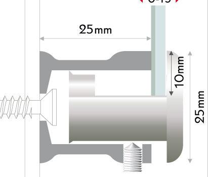 Sistema di fissaggio Corner