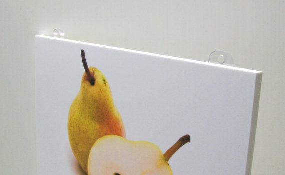 Pannello con appendini in Plexiglass