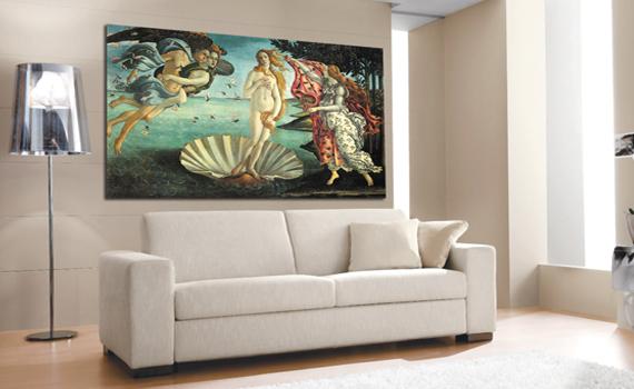 Fotoquadri su tela canvas con telaio