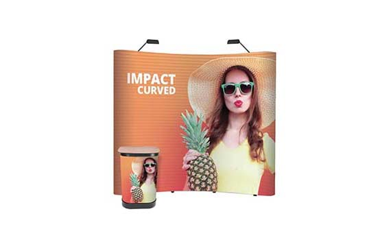 "Pop up ""Impact bundle curvo"""