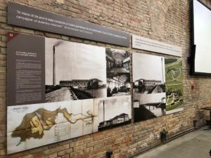 Pannelli in Forex all'interno del museo regionale della bonifica di Cà Vendramin