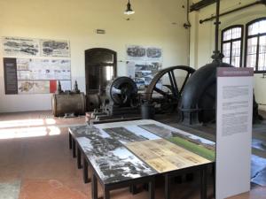 Interno museo regionale della bonifica di Ca' Vendramin
