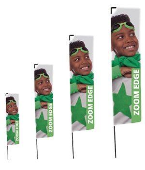 Bandiera Zoom Plus Rettangolare