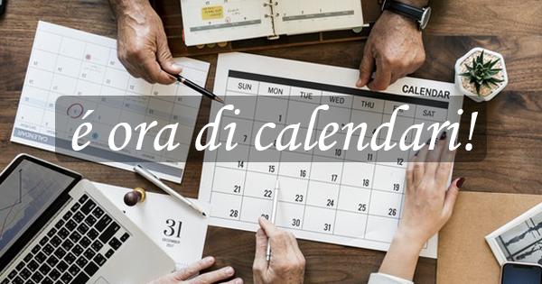 Promo calendari 2019