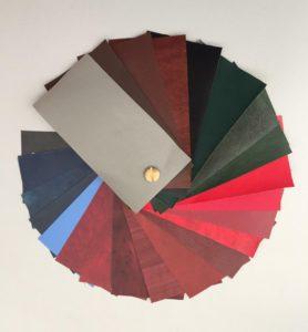 Campionario colori Tesi Similpelle